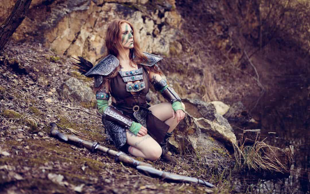 Aela the Huntress – Armschienen Tutorial