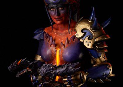 Overwatch Cosplay Battle - Dragon Symmetra