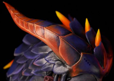 Overwatch Cosplay Battle - Dragon Symmetra - Hörner aus Worbla's Pearly Art