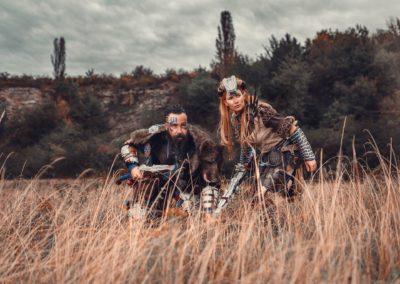 Aloy & Rost - Horizon Zero Dawn
