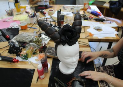 Headpiece mit Worbla's Finest Art