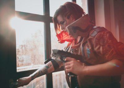 V Cosplay Cyberpunk 2077
