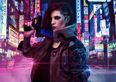 V Cosplay - Cyberpunk 2077 (1)
