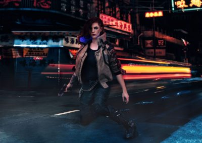 V Cosplay - Cyberpunk 2077