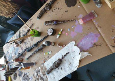 Zauberstab Workshop an der Marienschule